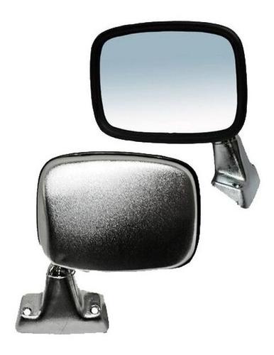 espejo toyota pick up 79-80-81-82-83 cromo derecho