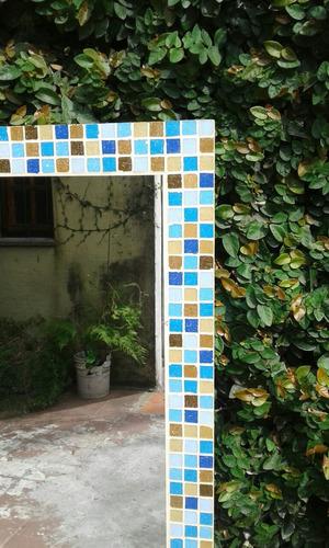 espejo venecitas 1 x 60 diseño livin. baño. dormitorios