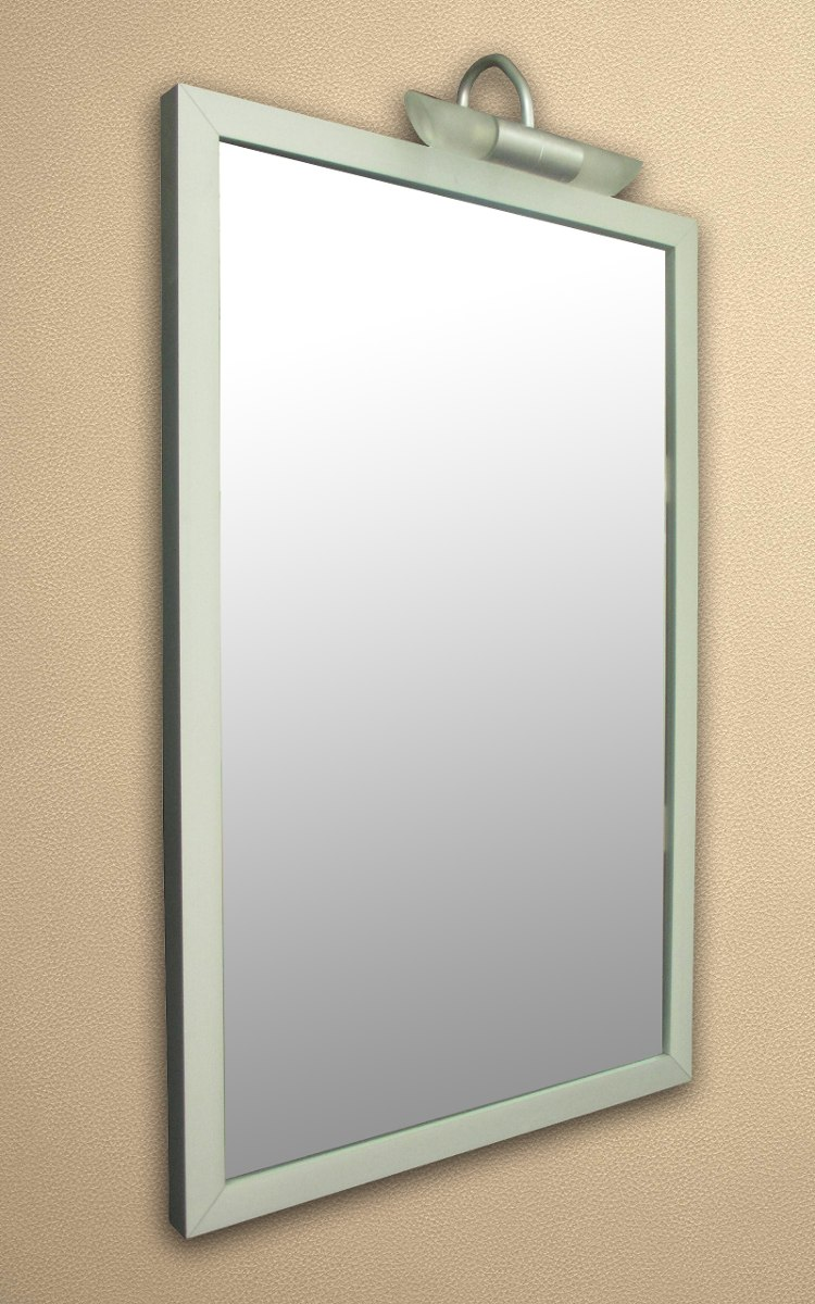 Espejo Vertical C/marco De Aluminio Y Luces Marca Versailles - $ 700 ...
