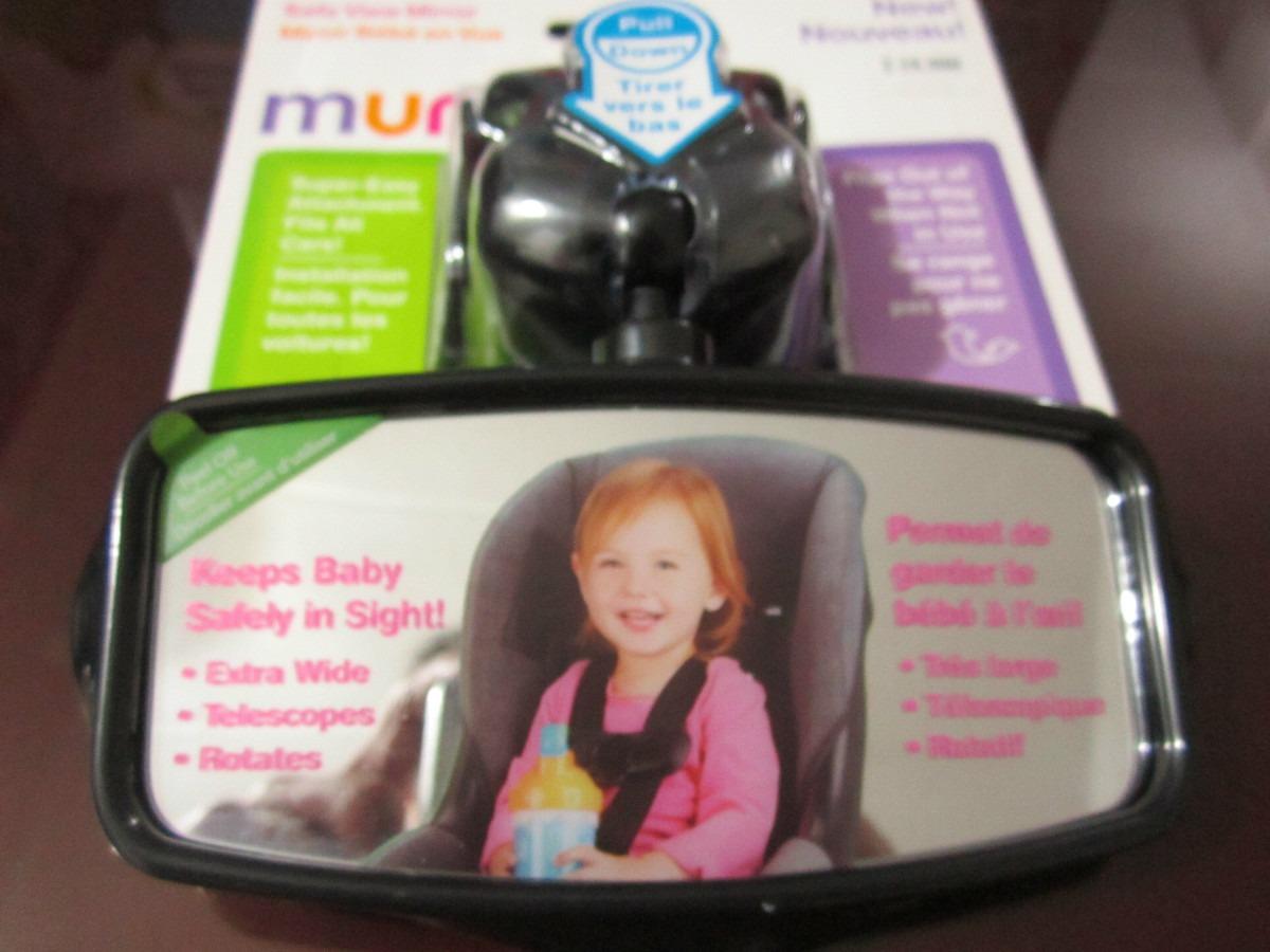 Espejo Visor De Su Beb Para Su Auto Camioneta