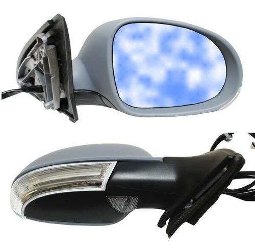 espejo vw bora 2007 al 2010 electrico direccional y luz piso