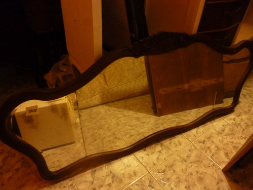 espejos antiguos estilo francés, con espejo biselado
