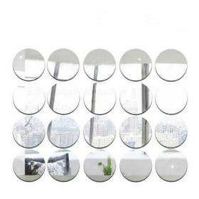 Espejos Circulares Reales. Listos Para Instalarse. Caja×20.