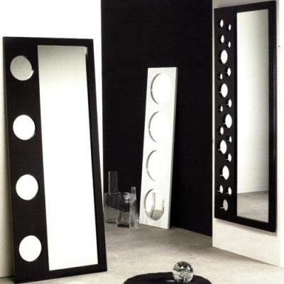 espejos c/marco de melamine desde  s/40