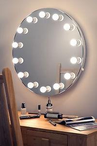 Espejos Con Focos Para Maquillaje Con Luz Led Hollywood