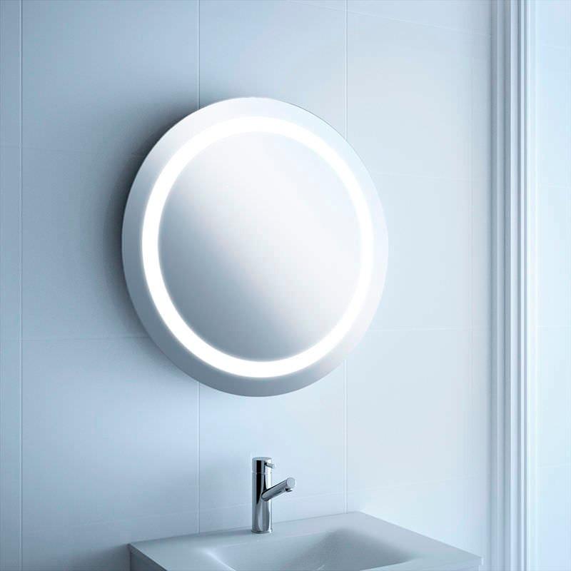Espejos con iluminaci n led interna circular maquillaje for Espejos con iluminacion