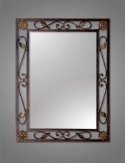 Espejos con marco de herreria diferentes modelos y colores for Cuanto cuesta un espejo