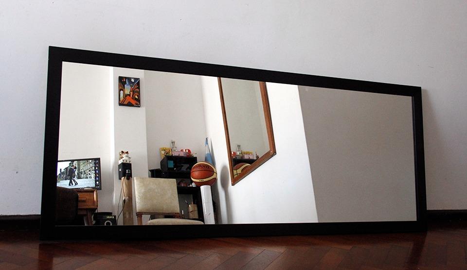 Espejos Con Marco Horizontal Y Vertical - $ 2.000,00 en Mercado Libre