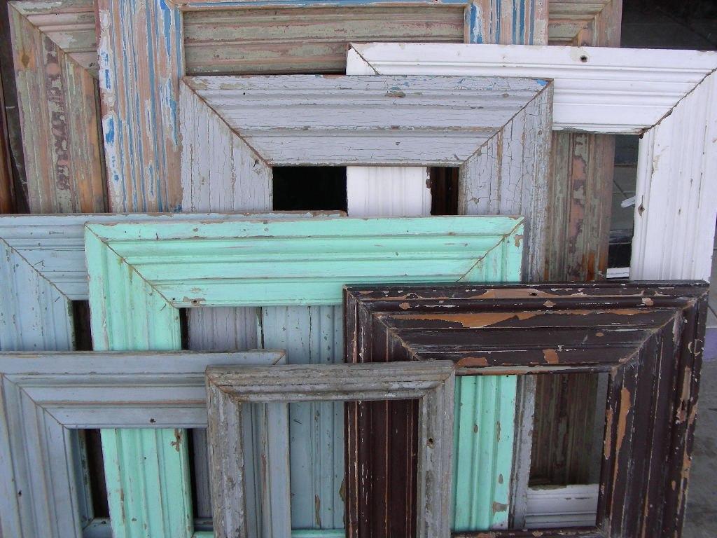 Espejos con marcos contramarcos antiguos de demolicion - Espejos antiguos de pared ...