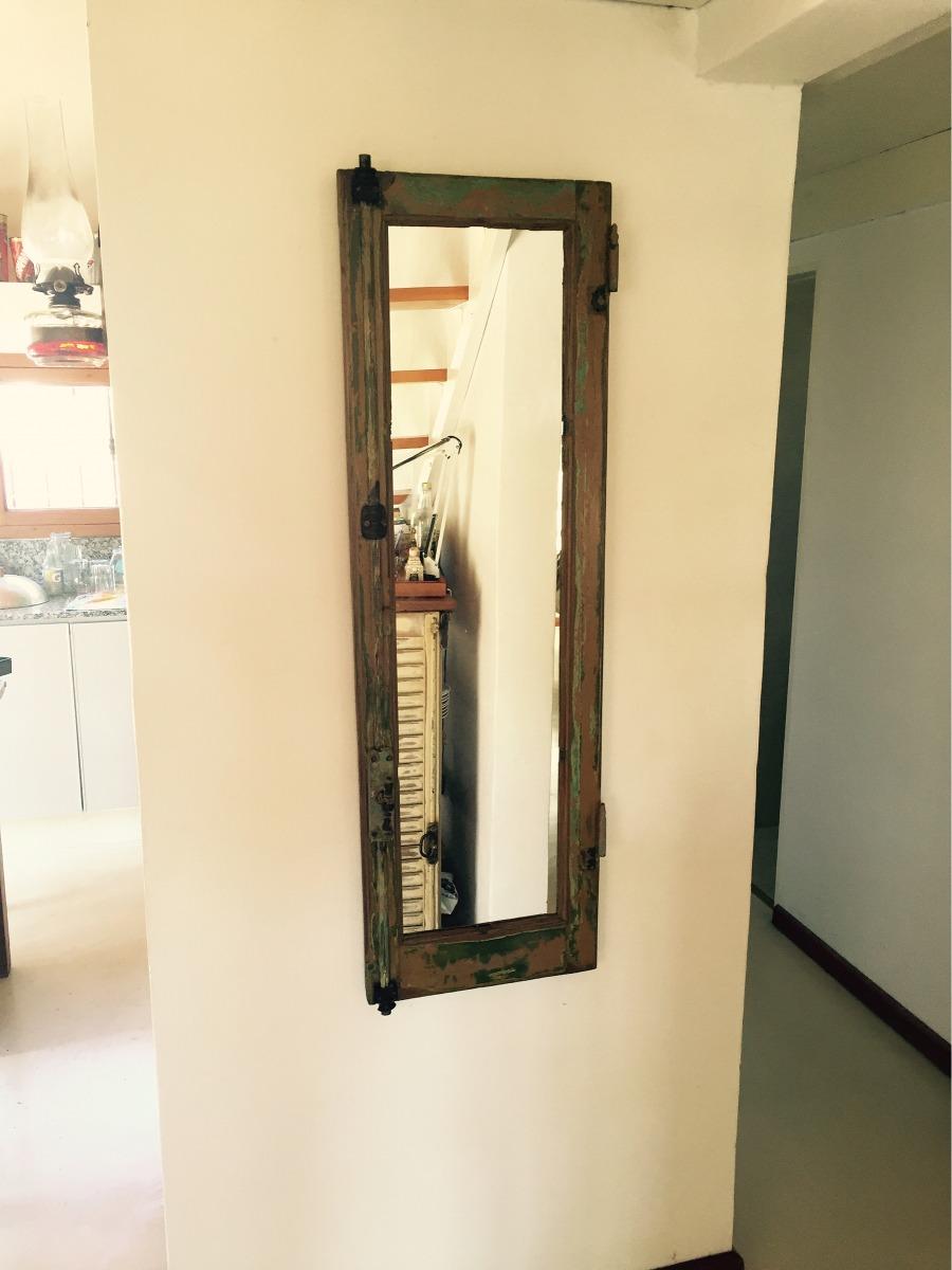 Espejos Con Marcos De Ventanas Y Puertas Rústicos - $ 1.700,00 en ...