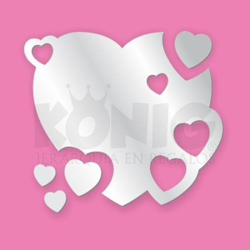 Espejos corazones decorativos originales baratos heart for Espejos de pared decorativos baratos