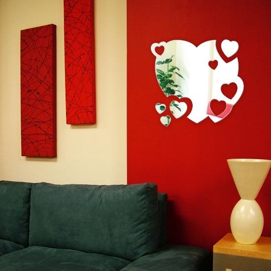 Espejos corazones decorativos originales baratos heart for Espejos decorativos economicos