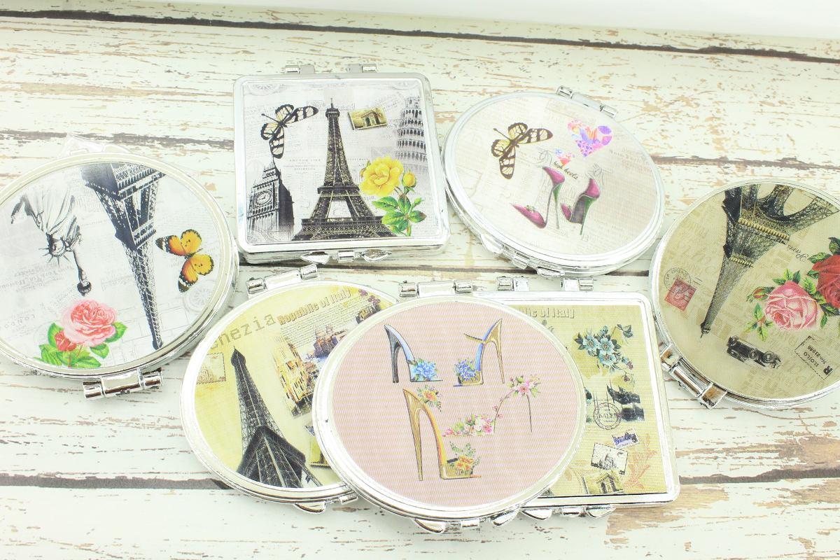 Espejos de bolsillo recuerdos bodaxv paris vintage 8 for Espejos de pared vintage