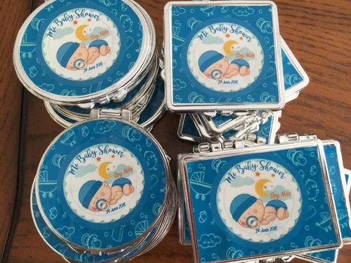 espejos de bolsillo recuerdos personalizado boda xv comunion