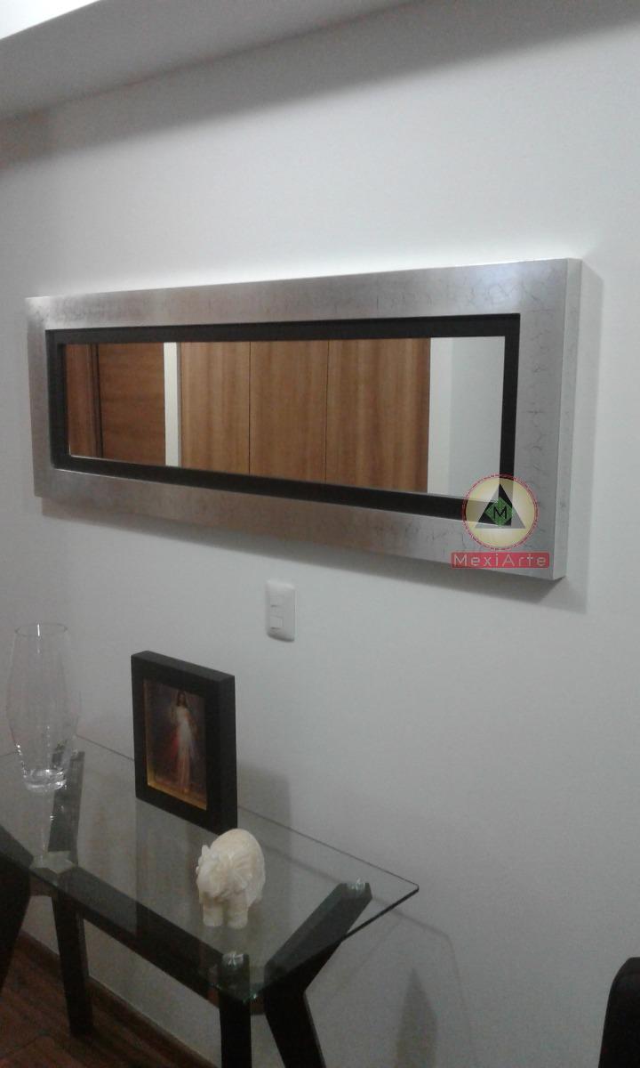 Espejos Decorativos Con Marcos De Madera Personalizados - $ 3,200.00 ...