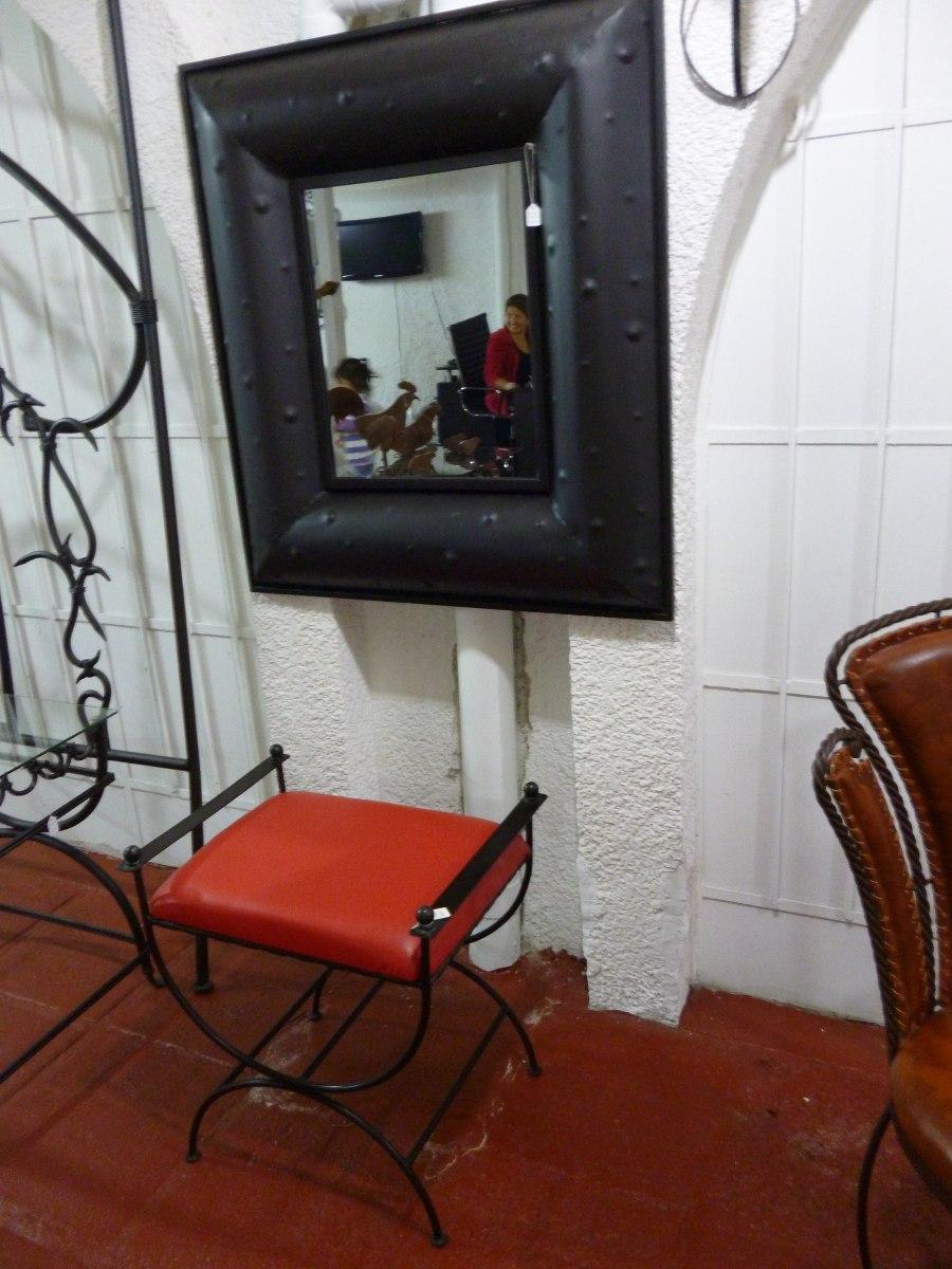 espejos decorativos de metal 2 en mercado libre