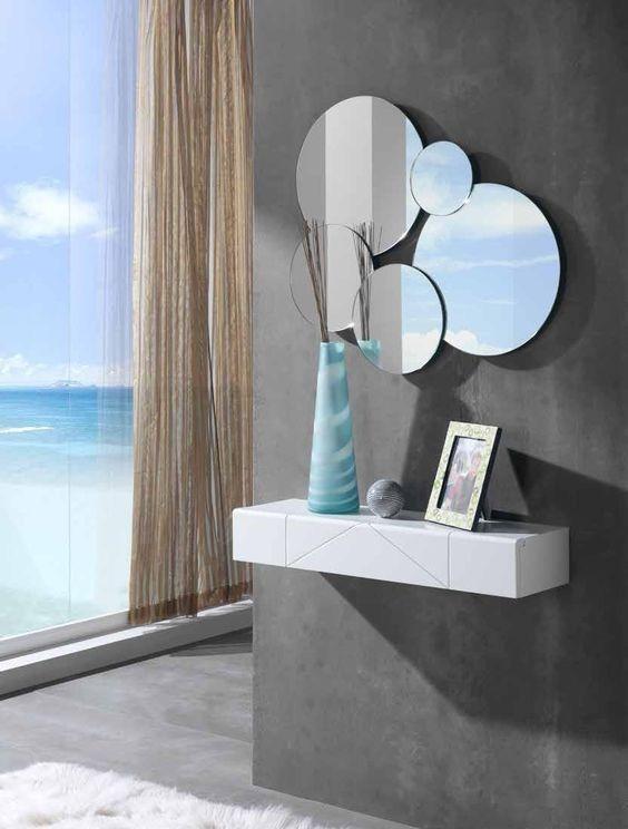 Espejos decorativos recibidores bs en mercado - Comprar espejos decorativos ...