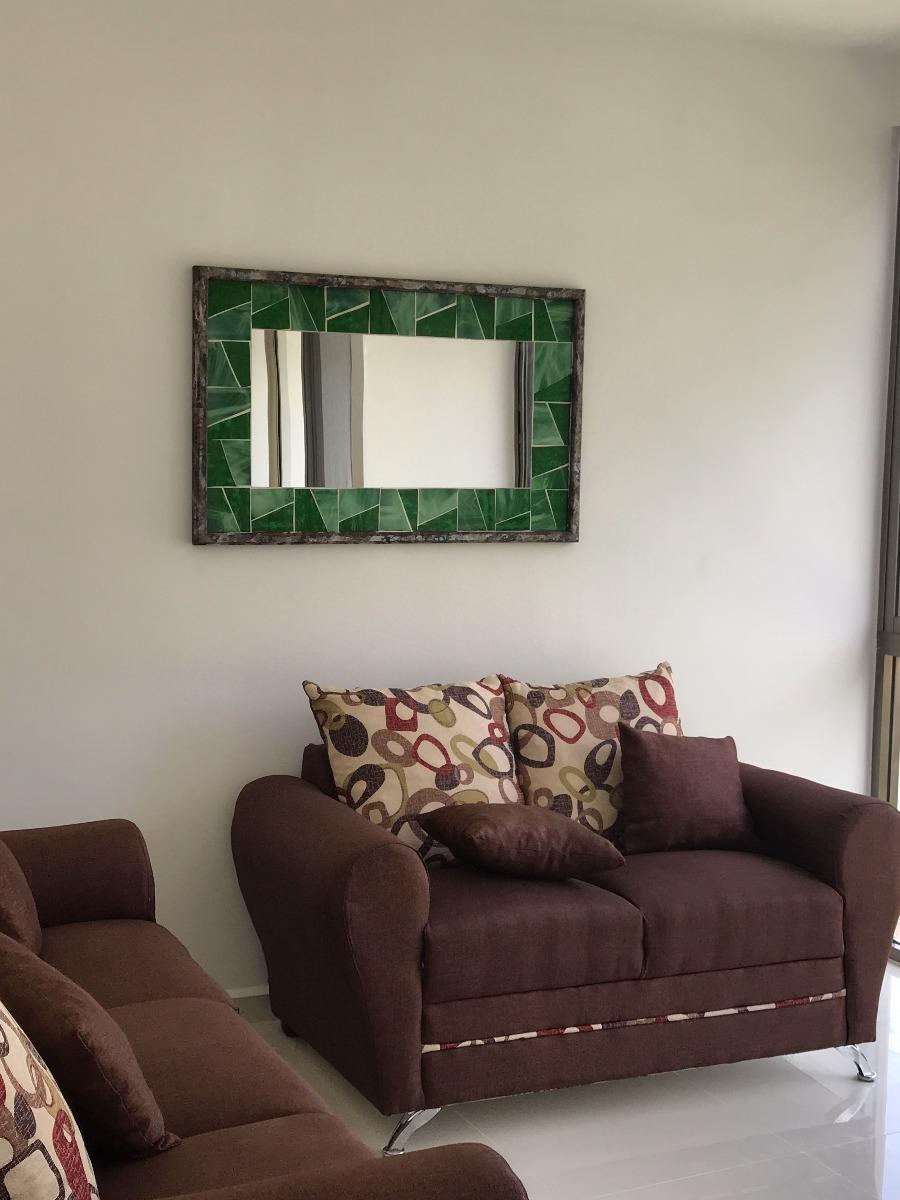 Espejos decorativos sobre dise o sala comedor recamara for Espejos rectangulares para sala