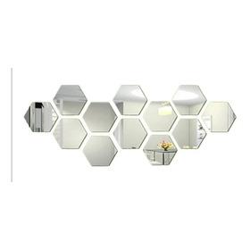Espejos Decorativos X 12 Unidades En Vidrio De 4mm