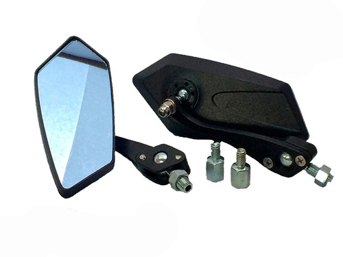 espejos deportivos tipo koso cuerpo metal con adaptadores