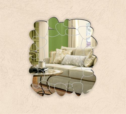 espejos diseño rustico, originales, decorativos, piedras río