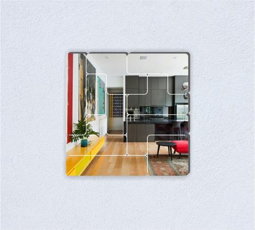 espejos diseño tetris, modernos, originales, divertidos