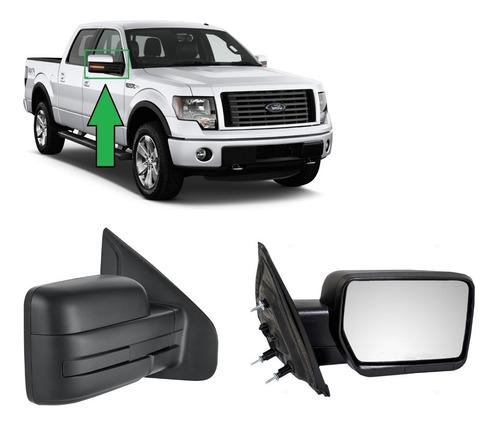 espejos ford f150 2009 al 2014 derecho-negro-electrico
