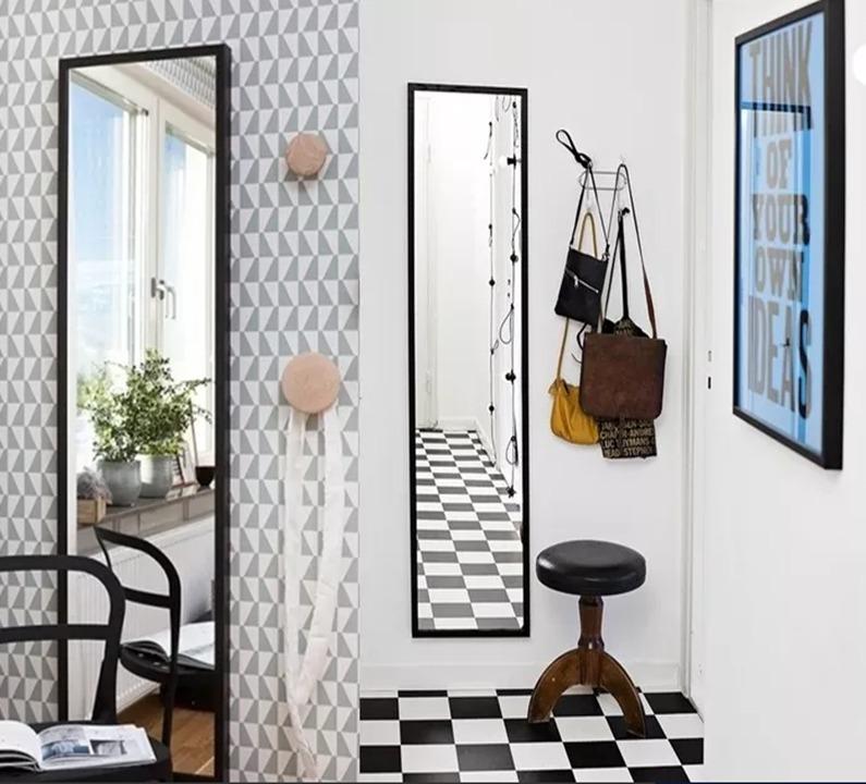 Espejos Horiz Y V. 126 X 34 Deco - $ 395,00 en Mercado Libre