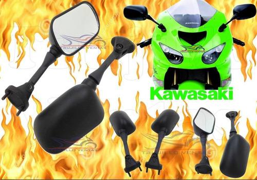 espejos kawasaki 636 zx6r zx10r año 2005 2006 2007 2008 @tv