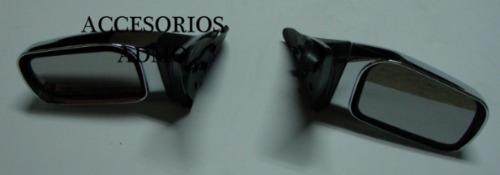 espejos laterales tsuru iii deportivos cromados
