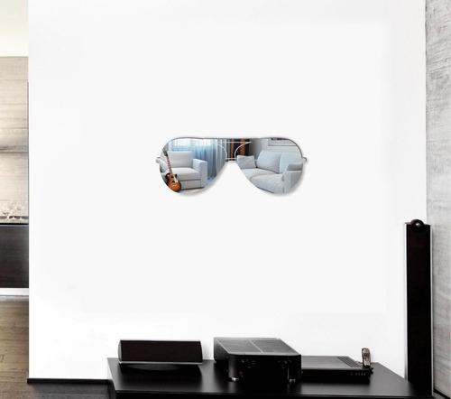espejos lentes aviador decorativos, juveniles, creativos