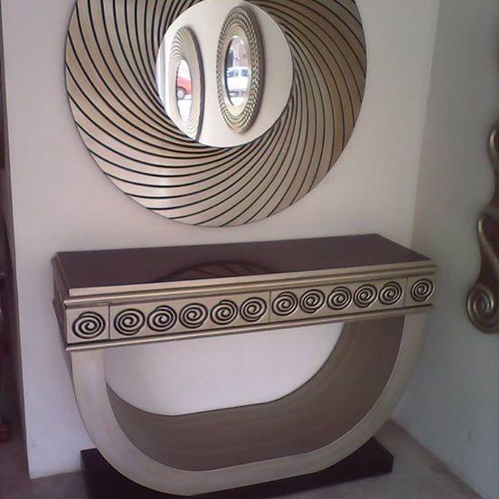 Espejos Modernos Circulares En Acabado Plata 290 239000 En - Espejos-modernos