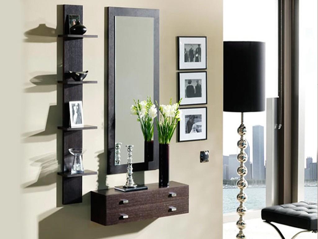 Espejos modernos melamina muebles repisas s 320 00 for Espejos de decoracion modernos