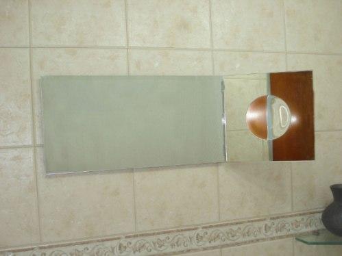 Espejos para ba o con aplique de aumento 950 00 en - Espejos biselados para banos ...