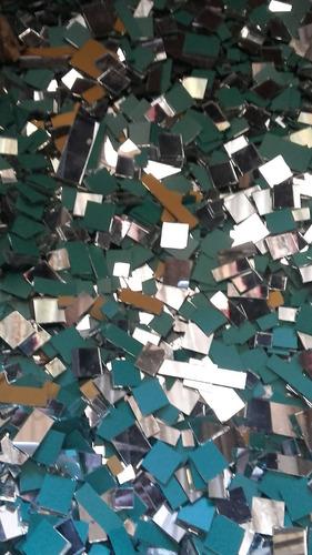 espejos p/mosai x kilo varias medidas(recortes,cuad y recta)