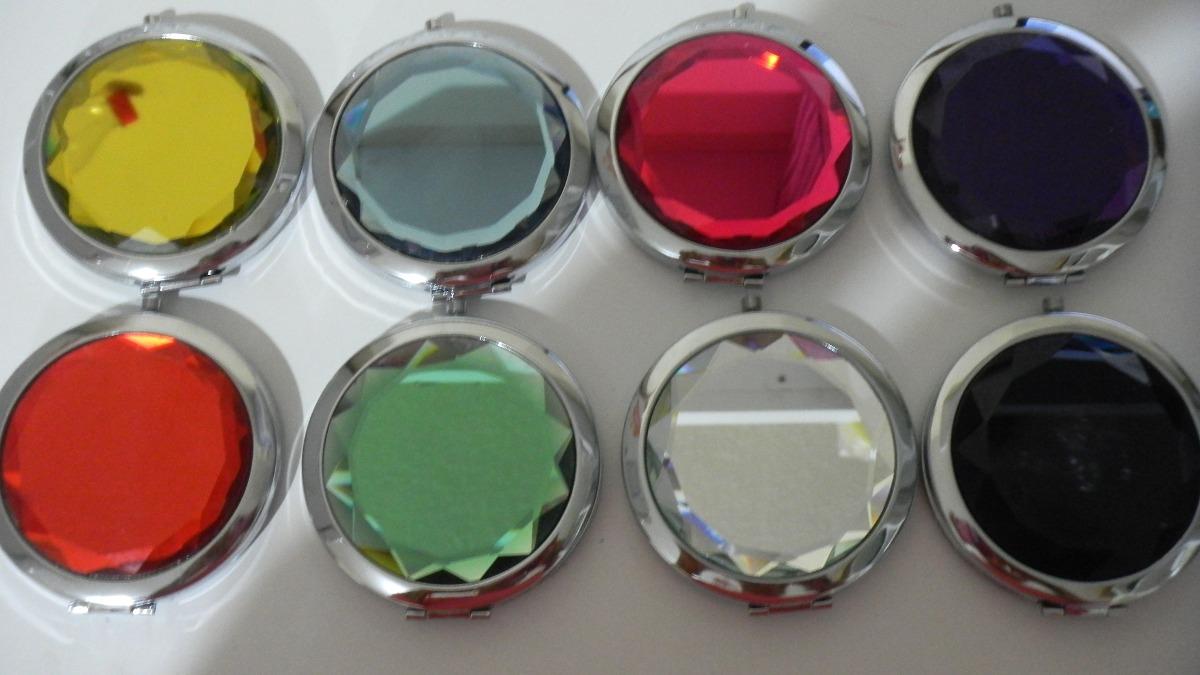 Espejos recueros personalizados xv a os baby shower bodas for Donde comprar espejos redondos