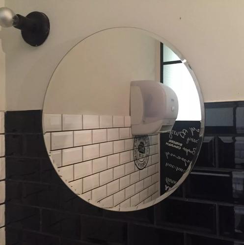 espejos redondo 60 cm de diámetro con bisel de una pulgada