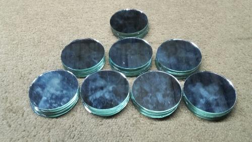 espejos redondos para artesanias y decoracion