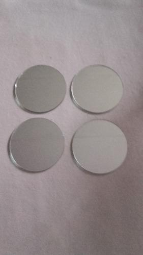 espejos redondos para souvenir 5cm diam x 10 und,bordes puli