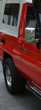 espejos retrovisor cromado toyota cara de vaca land cruiser
