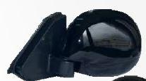 espejos retrovisores deportivos escualizables negros x 2