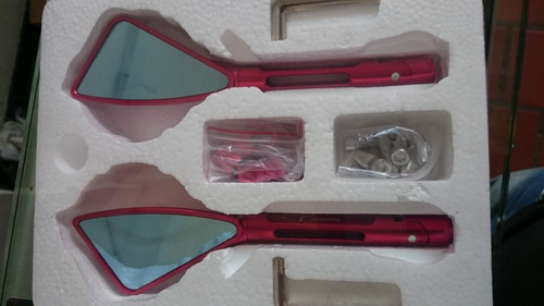 espejos rizoma para moto - espejos de lujo (envío gratis)