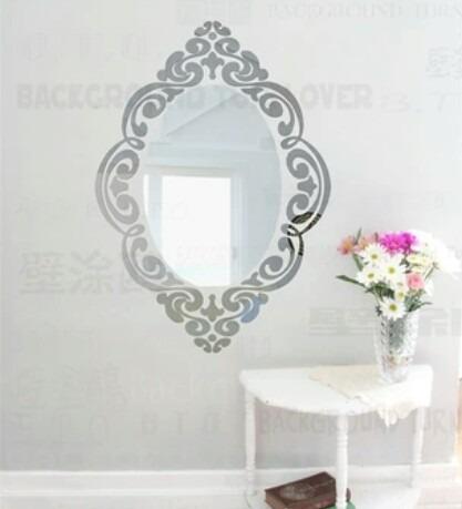 espejos sala comedor dormitorio plateados dorados ovalados - Espejos Plateados