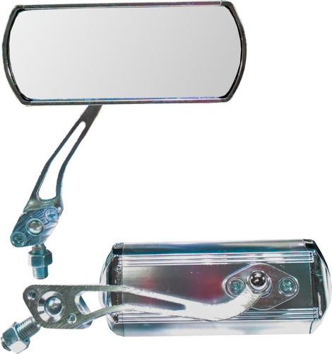 espejos tunning universales cromados - -