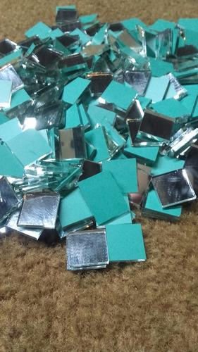 espejos venecitas de 1,5x1,5cm por(500und)