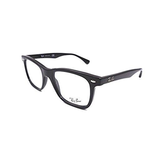 138e6021eb Espejuelos Ray-ban Rx5248 2000 Negro Brillante 51mm - $ 180.990 en ...