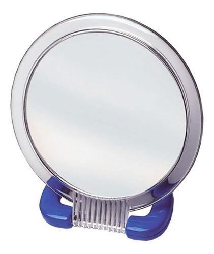 espelho 2 em 1, normal ou aumento em 2 vezes e com suporte de mesa - marco boni