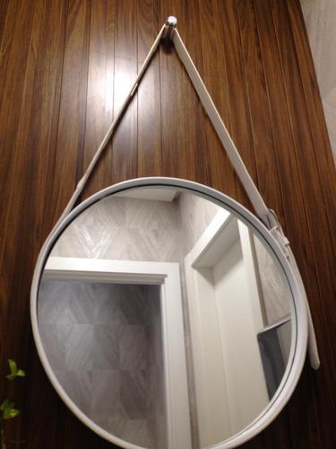espelho adnet redondo moderno banheiro sala quarto hall