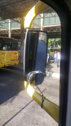 espelho auxiliar com presilha/garra movel caminhão e onibus
