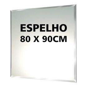 Espelho Com Bisotê 80cm X 90cm (12x Sem Juros)